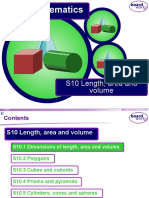 Length Area Volume