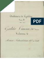 GALILEI, Vincenzo - Libro d'Intavolatura di Liuto (Ms.)