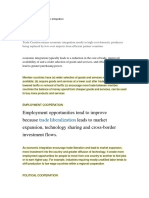 Pointers Econ Integration