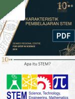Karakteristik Pembelajaran STEM_210819
