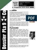 Dossier Pla 9 - Codi 64
