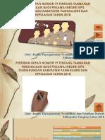 Sosialisasi Perbub TPP 2018 Kabupupaten Pangkep