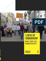 Libya of Tomorrow What Hope for Human Rights
