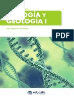 Tema muestra oposiciones Biología y Geología Educalia