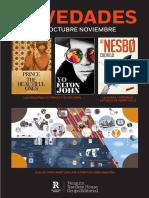 Boletín Reservoir Books Oct-nov 2019