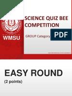 Quiz Bowl (Group) 2019, 3-4