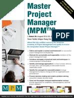 Mpm Brochure and Reg Form