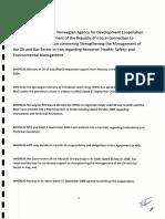 Programme Agreement