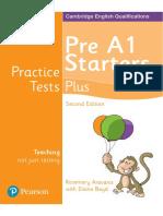 YLE Practice Tests Plus Starter SB 2nd Ed