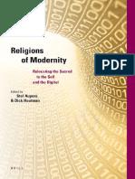 Religions of Modernity