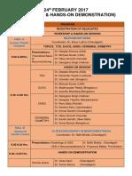 3. Scientific Programme Isnacc 2017