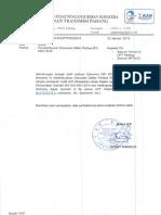 Pendistribusian Dokumen Daftar Periksa ISO 9001-2015