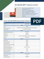 Gennex 5kVA New DataSheet
