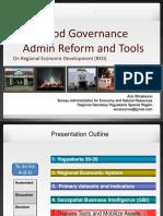 Good Governance Reform Tools