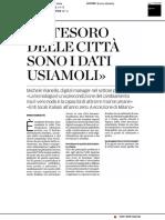 """""""Il tesoro delle città sono i dati"""" - La Provincia di Como del 30 settembre 2019"""