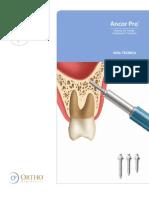Guia Técnica Microtornillos de Ortodoncia AncorPro