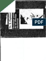 Popkewitz. Sociología Política de Las Reformas
