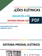 Aulas 3 e 4_Sistema Predial Elétrico