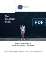 NZ Student - From 01 October 2017