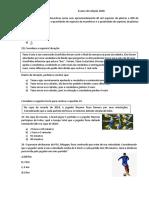 Simulado IFRN 2020 DE MATEMÁTICA