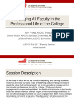 Engaging All Faculty in Professional Life FINAL