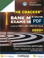 Paid Quantitative Aptitude Crackers 2019