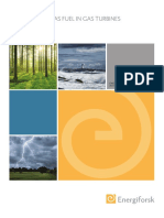 Hydrogen Gas as Fuel in Gas Turbines Energiforskrapport 2015 121