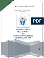 Black Start and Restoration Procedure Jan 2019