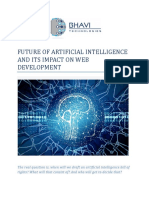 Future of Artificial Intelligence and Its Impact on Web Development-converted