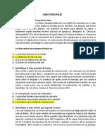 IDEA PRINCIPAL SER BACHILLER, TESIS, IDEA SECUNDARIA