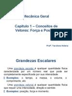 CONCEITO DE VETORES