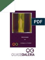 Brochura Pedro Kaliambai