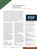 Recent Developments in Atopic Dermatitis