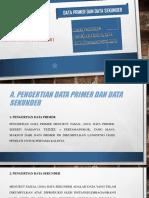 (Data Primer Dan Data Sekunder)