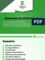 Aula 1 - Natureza Da Eletricidade