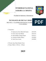 Informe 5 Conserrvas Maca,Manu,Liz