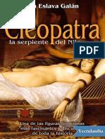 Cleopatra la serpiente del Nilo - Juan Eslava Galan.epub