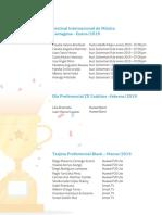 Beneficiarios Enero Julio 2019
