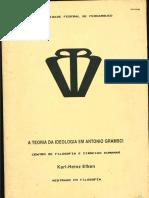 Dissertação de Mestrado de Karl Heinz Efken - 'A Teoria Da Ideologia Em Antônio Gramsci'