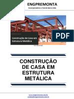 Construção de Casa Em Estrutura Metálica