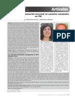 Gestión de La Información Personal en Usuarios Avanzados en TIC