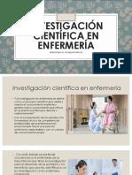 Investigación Científica en Enfermería