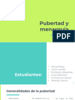Pubertad y menarquia fisiologia