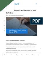 Contagem de Prazo No Novo CPC_ O Guia Definitivo -
