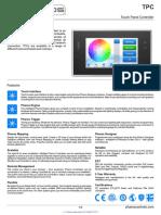 O- Technical Data Sheet for PHAROS TPC