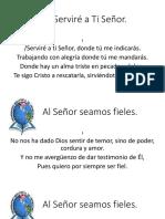 Al Señor Seamos Fieles