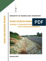 roads design manual