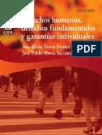 Fierro Ferráez, Ana, Derechos humanos, derechos fundamentales y garantías individuales, Oxford University Press México 2016