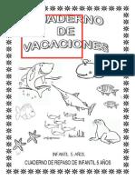 cuaderno vacaciones infantil 5 años
