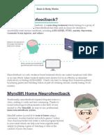 MyndLift Neurofeedback Handout